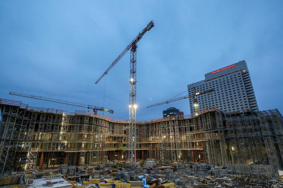 Corona lässt Auftragszahlen einbrechen: Jetzt rutscht auch Sachsens Bauwirtschaft in die Krise