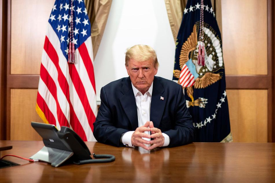 Der US-Präsident habe US-Medienberichten zufolge darauf gedrängt, aus dem Krankenhaus entlassen zu werden.