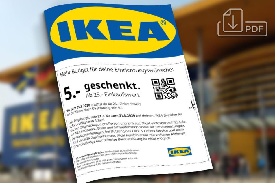 Anklicken und Gutschein downloaden.