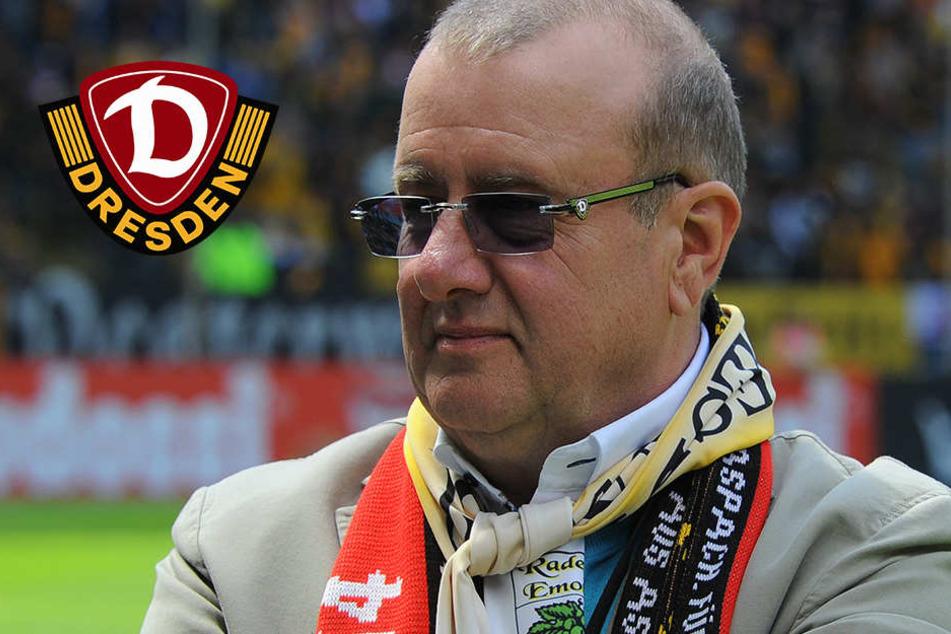 Dynamo-Präsident Ritter surft auf Euphoriewelle