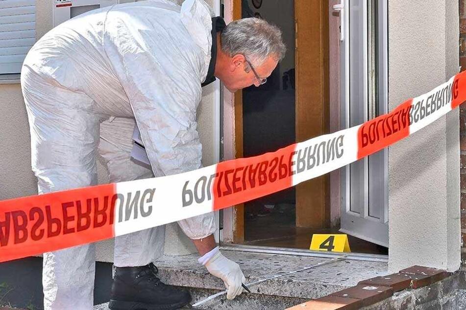 Die Spurensicherung am Tatort soll helfen, den Fall zu rekonstruieren (Symbolbild).