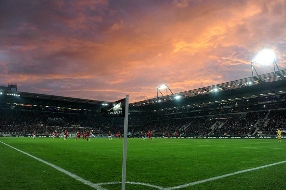 Eine Kultstätte des deutschen Fußballs: Das Millerntor auf St. Pauli.
