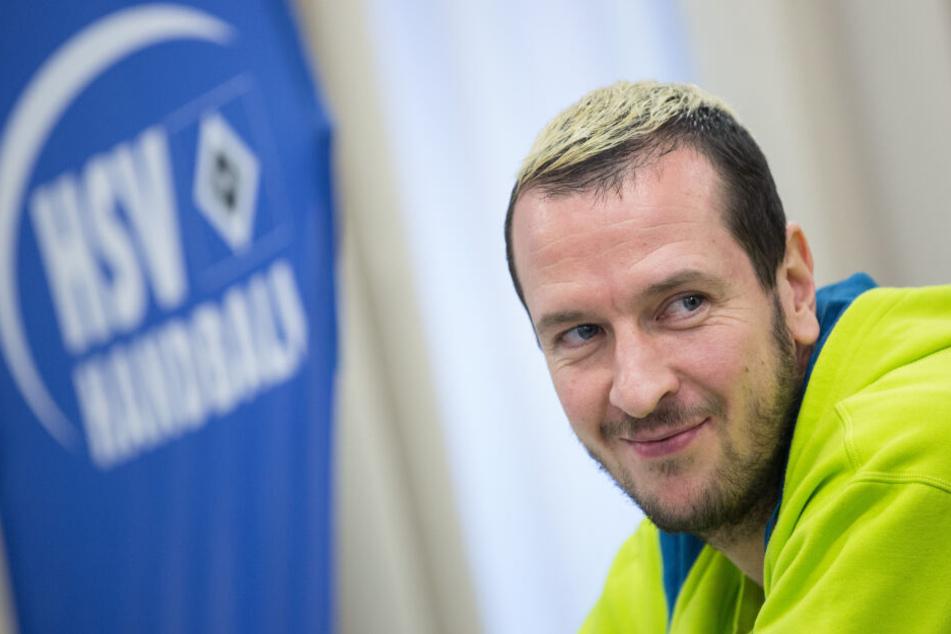 Pascal Hens, professioneller Handballspieler.