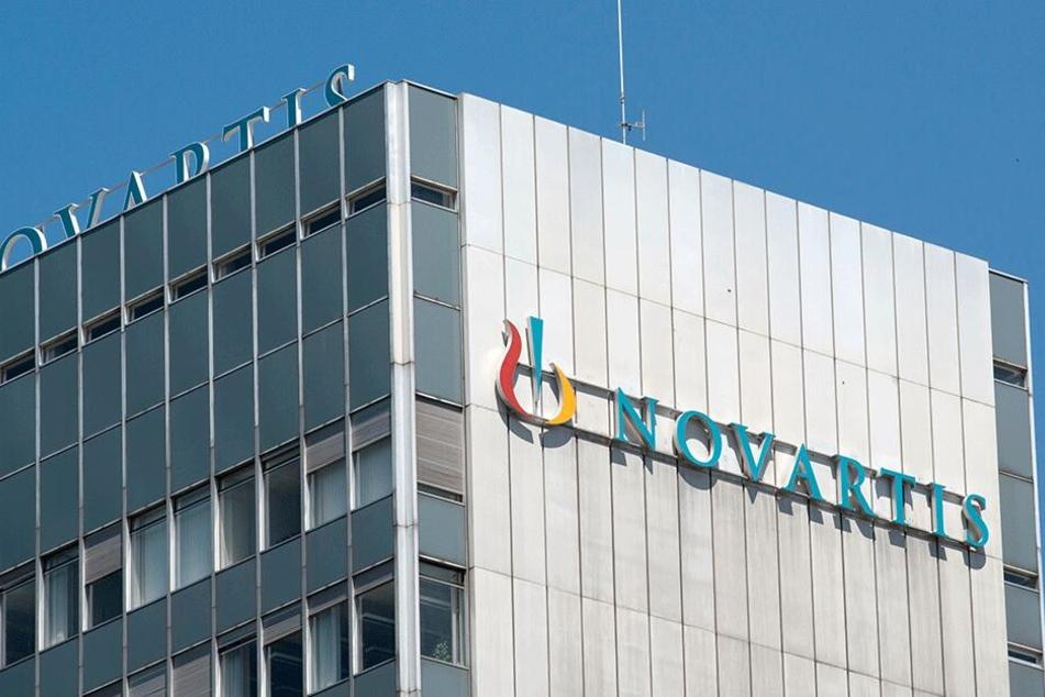 Der Hauptsitz des Pharmaunternehmens Novartis in Basel (Schweiz).