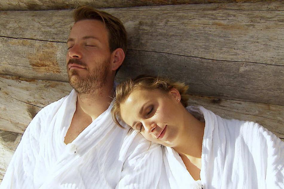 Ein Herz und eine Seele: Farmer Gerald (33) und Anna (29).