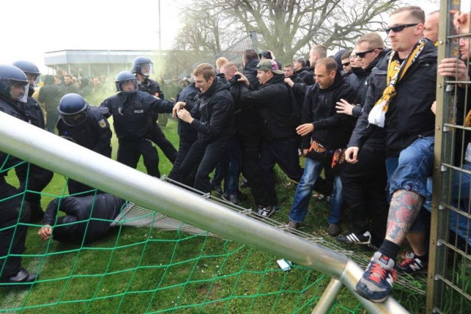 Magdeburg rechtfertigt Hausverbot für Dynamo-Fans