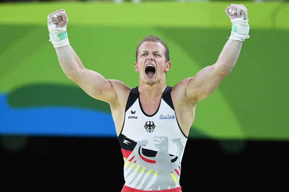 """Die Goldmedaille ist der krönende Abschluss einer unvergleichlichen Karriere: """"In so einem Moment denkst du, du könntest noch 100 Jahre weiterturnen."""""""