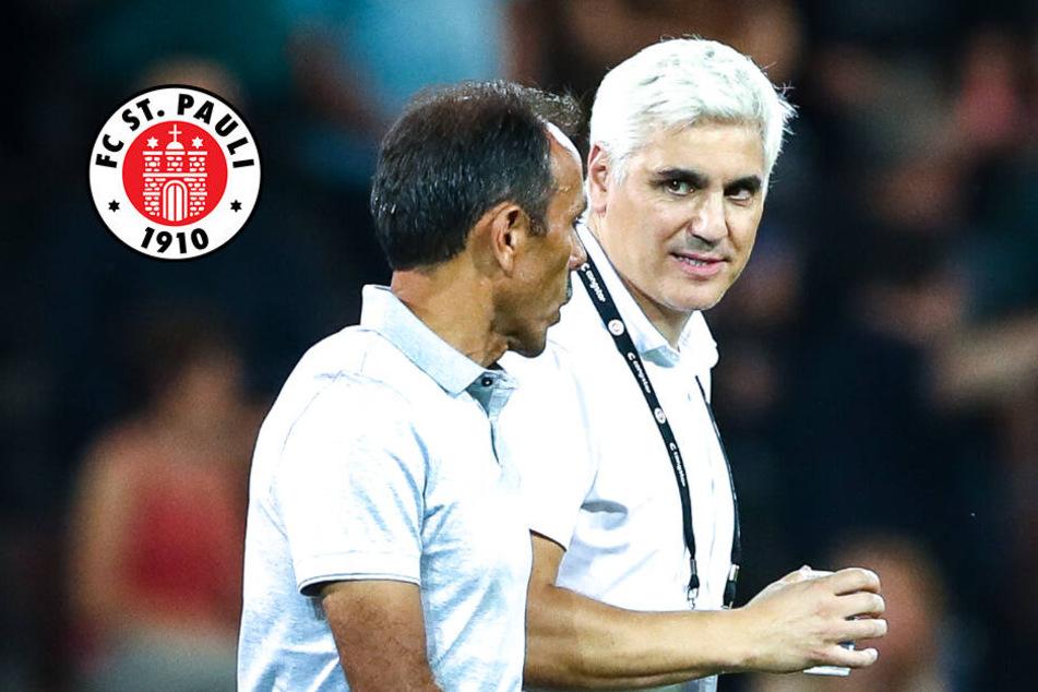 FC St. Pauli: Sport-Chef Bornemann stärkt Trainer Luhukay den Rücken