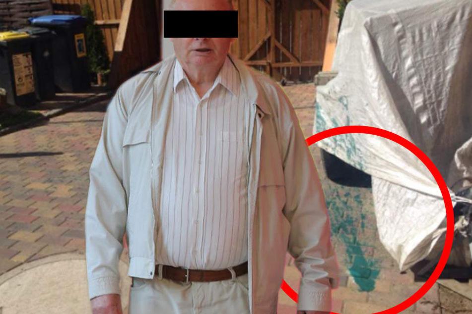Farbbomben, Nagelattacken: So terrorisierte ein Rentner die Familie von nebenan