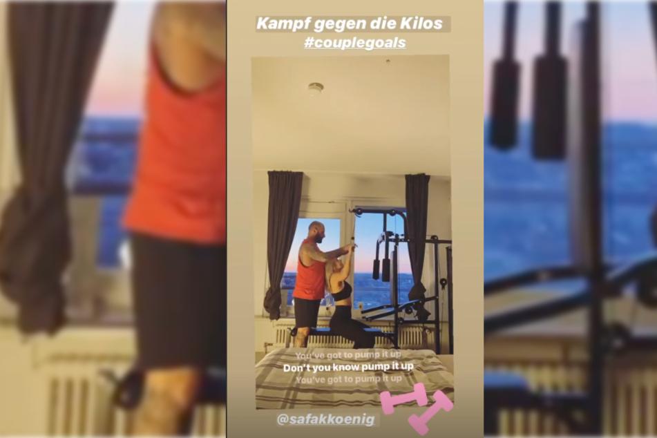 Mit diesem Foto und dem #couplegoals wies die 24-Jährige auf ihre neue Liebe hin.