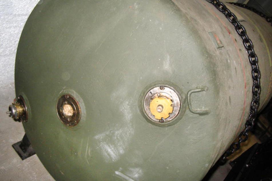 Eine Bombe vom Typ HC 4000 legt Frankfurt am Sonntag lahm.