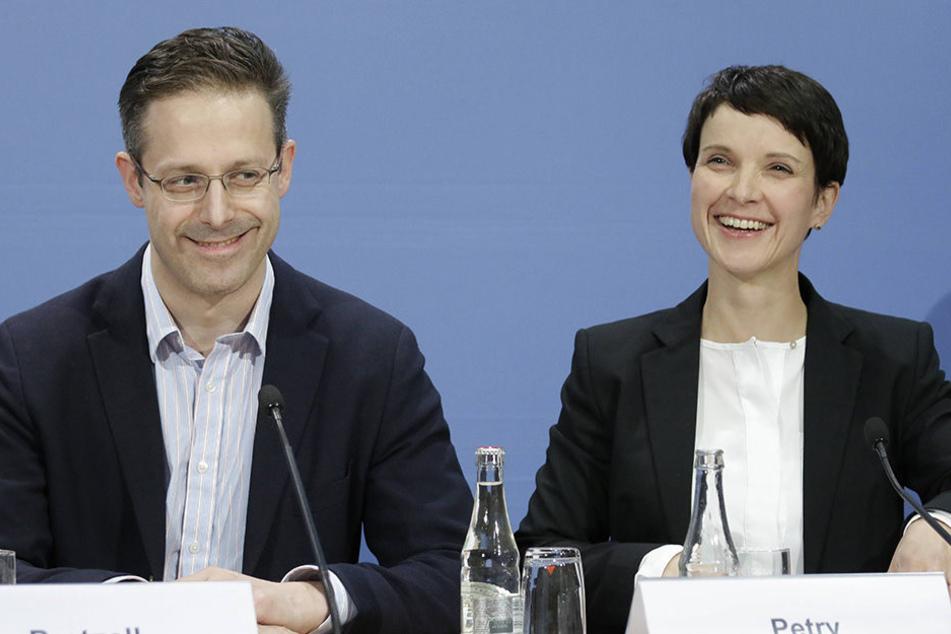Frauke Petry und Marcus Pretzell - Scheidung?: Scheitert ihre AfD-Karriere