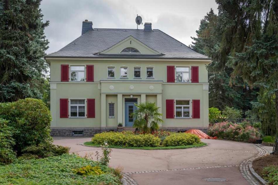 Die Villa Grosslaub an der Berthelstraße wurde bereits aufwendig saniert.