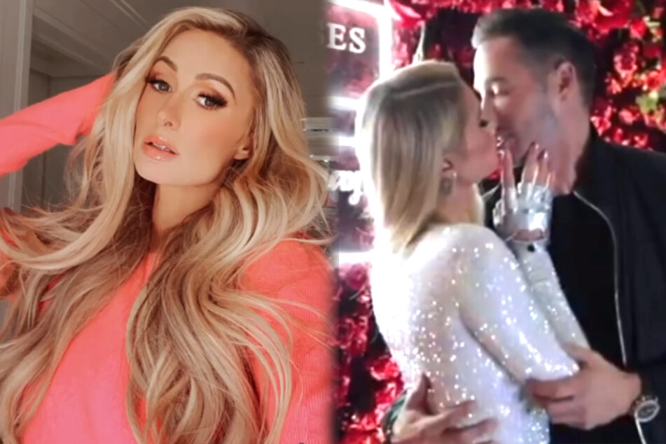 Paris Hilton shares moving declaration of love to her boyfriend on their anniversary