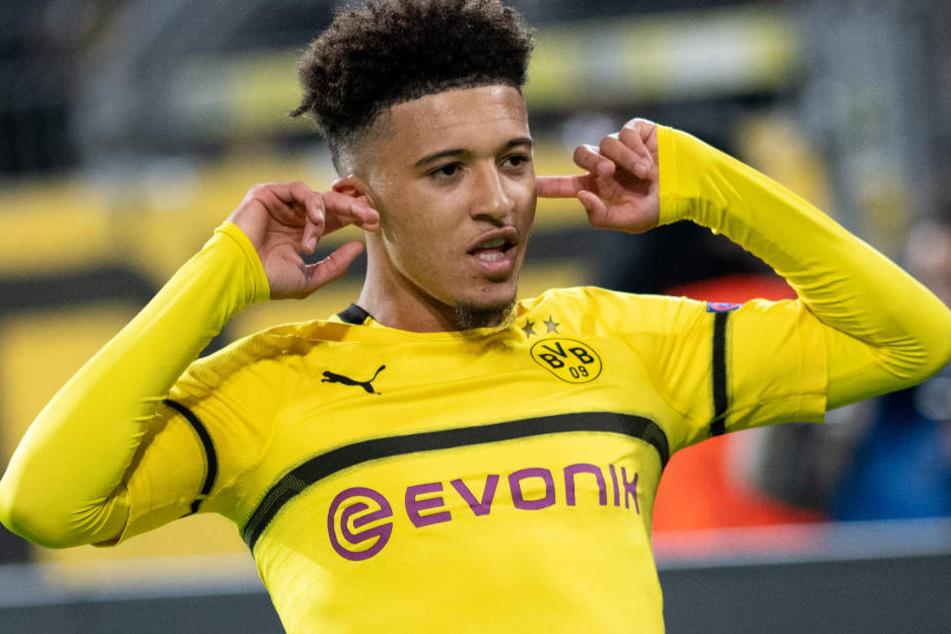 Jadon Sancho entschied sich für einen Wechsel zu Borussia Dortmund. (Archivbild)