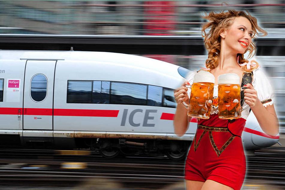 Von Leipzig nach München geht's ab Sonntag in drei Stunden und 15 Minuten. (Symbolbild)