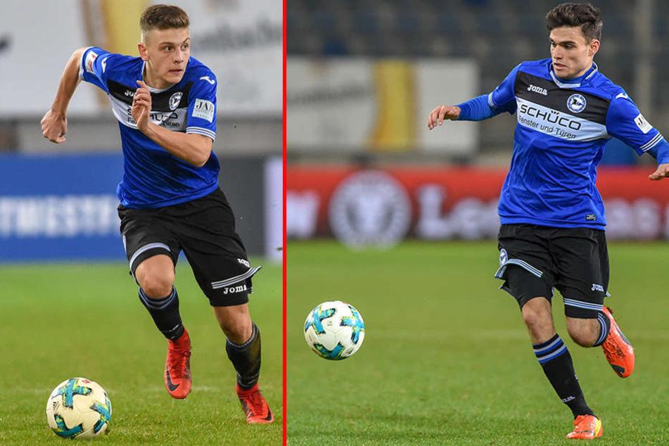 Can Özkan (18) und Semir Ucar (19) überzeugten durch starke Leistungen.