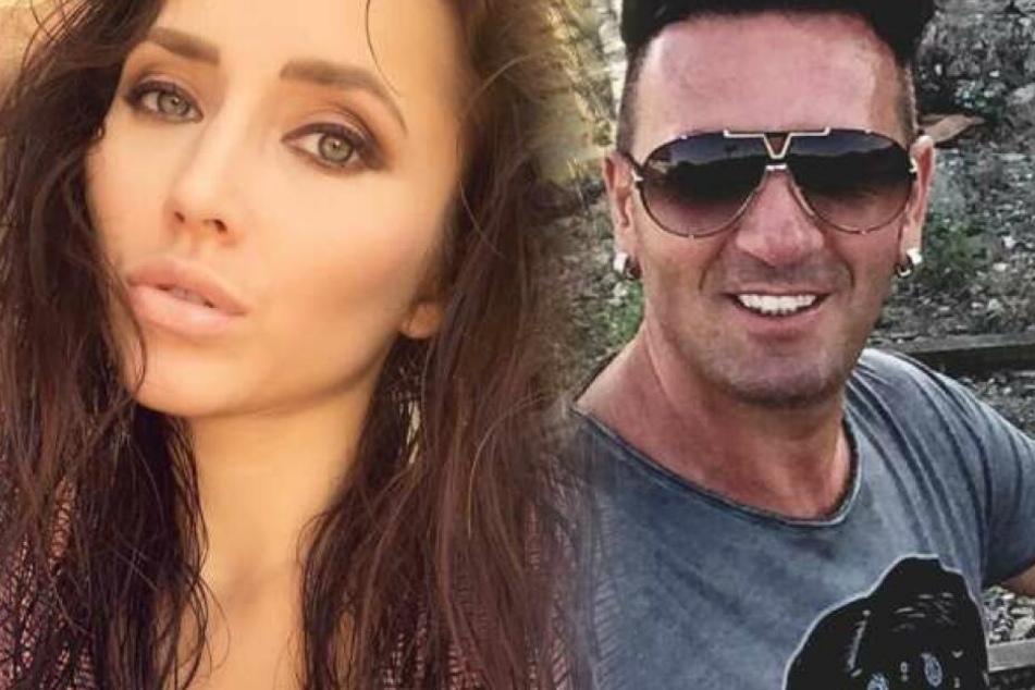 Fotomontage: Gaben ihre Beziehung vor Kurzem offiziell bekannt: Playmate Anastasiya Avilova und Reality-TV-Sternchen Ennesto Monté.