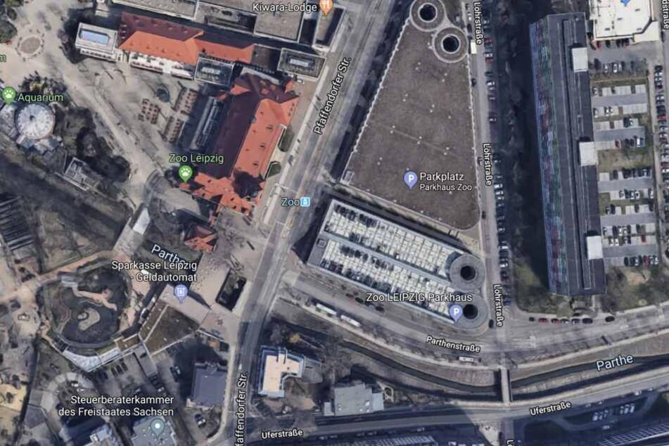 """Der Überfall ereignete sich an der Straßenbahnhaltestelle """"Zoo""""."""