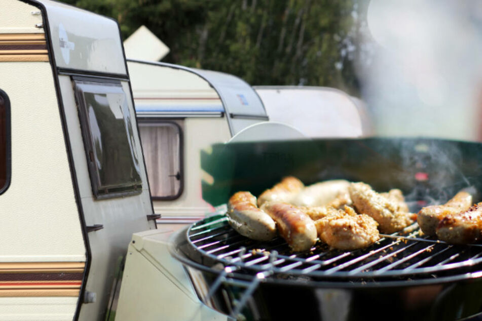 Toter durch Grill im Campingbus