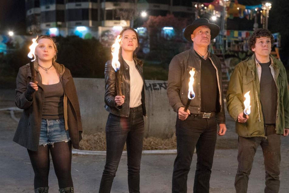 """Heftige Splatter-Komödie! In """"Zombieland: Doppelt hält besser"""" wird es richtig blutig"""