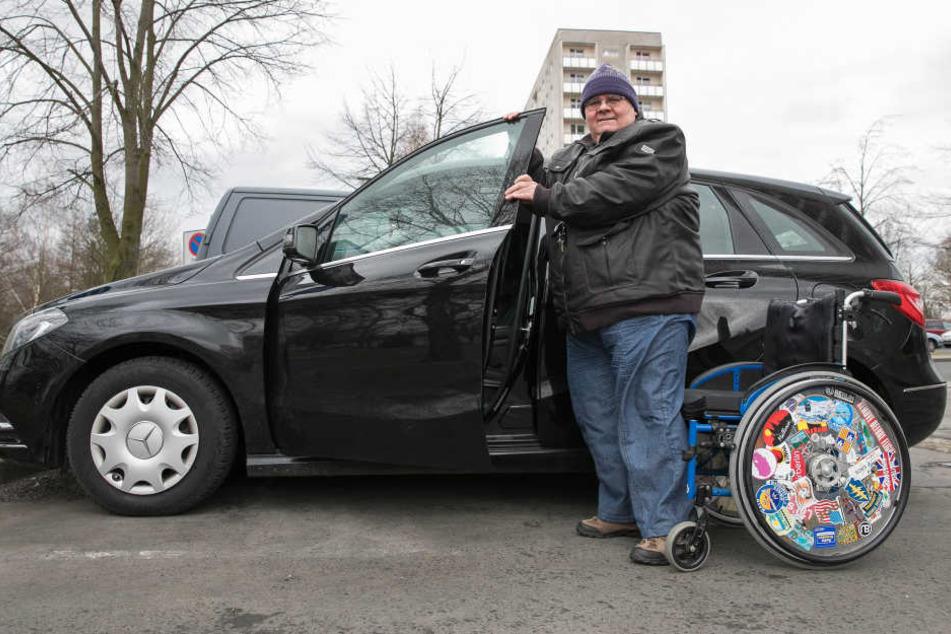 Dank der Diagnose und erfolgreichen Therapie fährt Jörg Müller inzwischen  sogar wieder Auto.