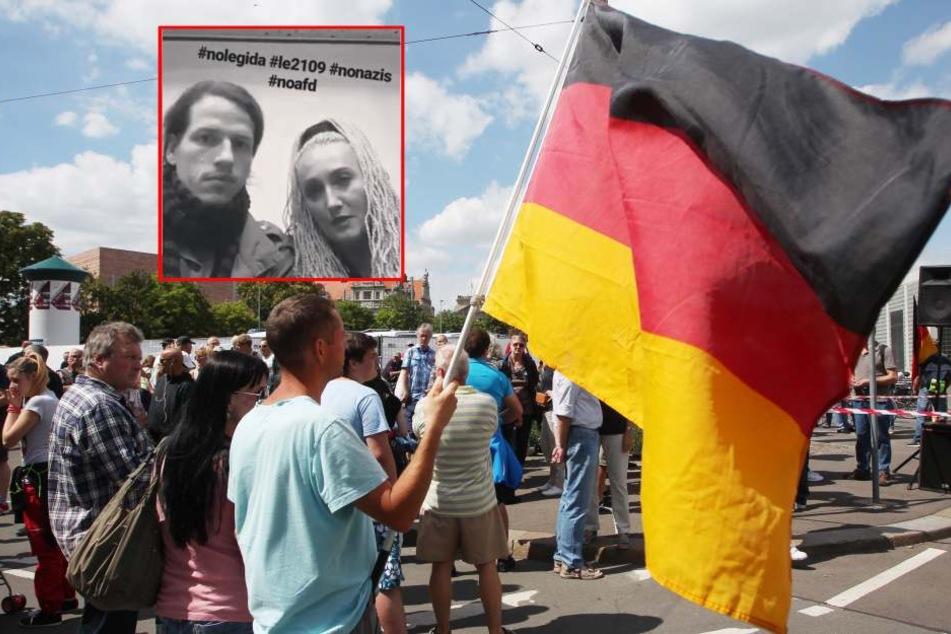 """Stress vor LEGIDA-Demo: """"Stadt rollt Nazis den roten Teppich aus!"""""""