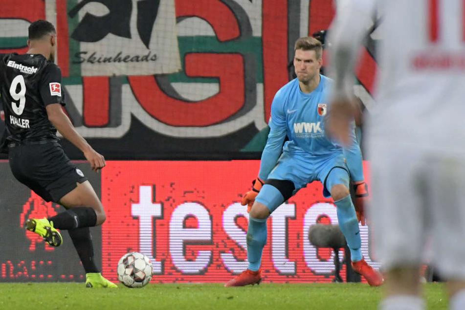 Mit seinem Treffer zum zwischenzeitlichen 2:0 sorgte Sebastién Haller (Li.) für die Vorentscheidung.