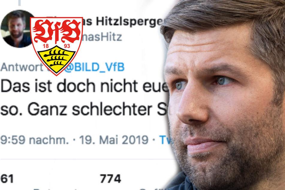 """""""Ganz schlechter Stil"""": VfB-Sportvorstand Hitzlsperger ist mächtig sauer"""