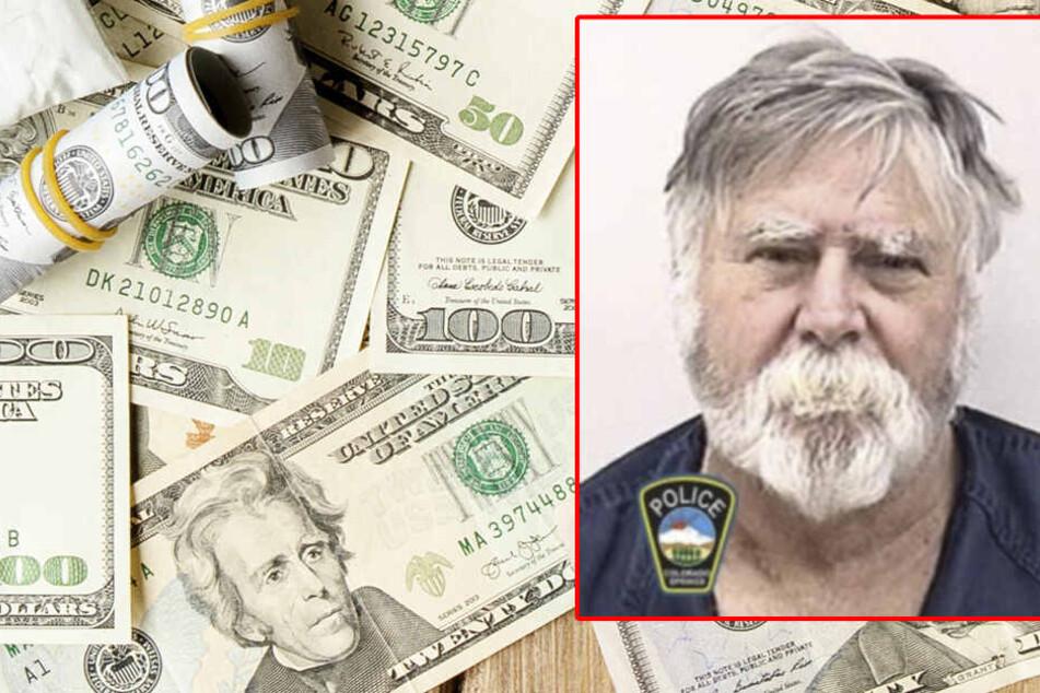 Typ überfällt Bank und verschenkt Geld an Fußgänger, dann passiert etwas Verrücktes