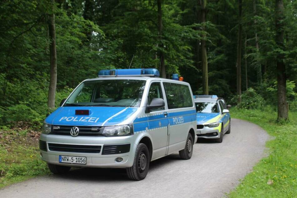 Die Polizei war mit mehreren Beamten vor Ort.