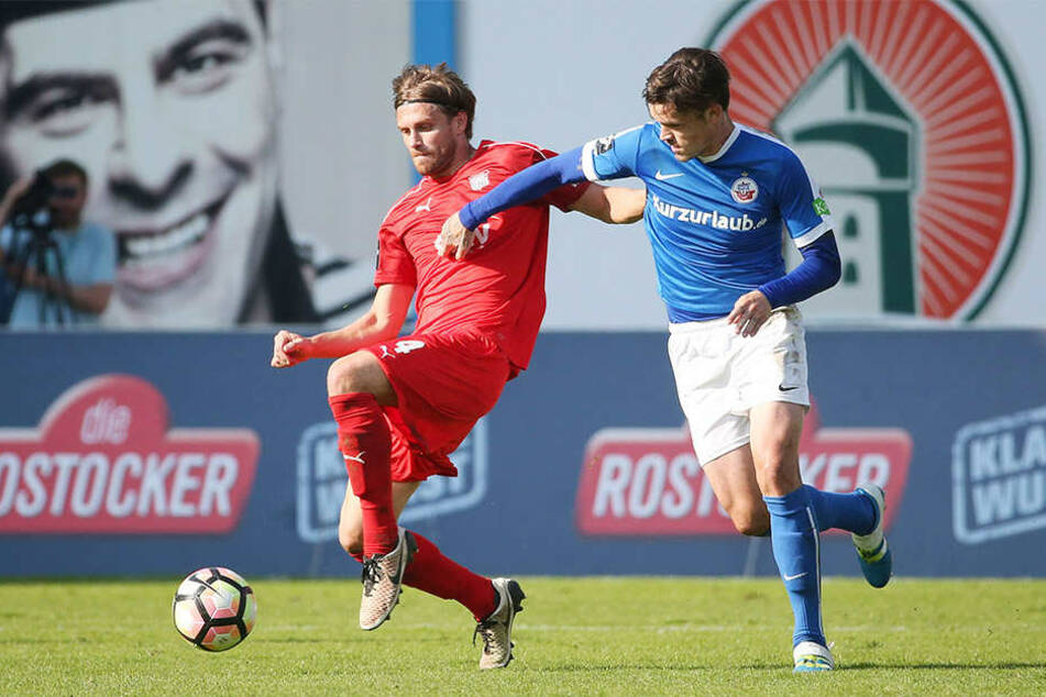 Das Hinspiel gewannen die Rostocker 5:0.