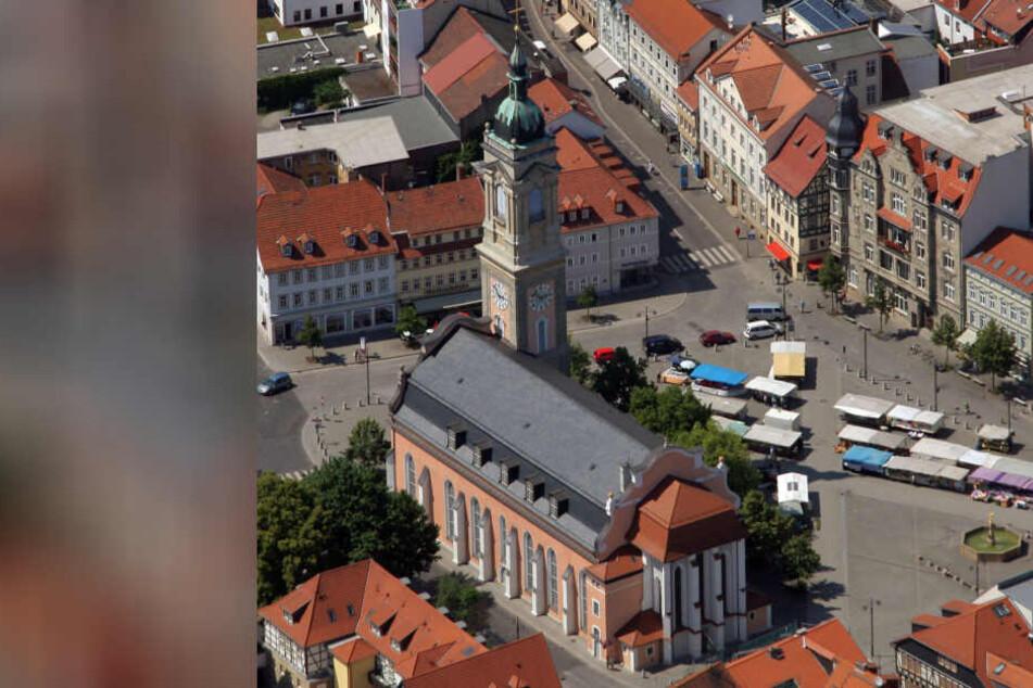 In der Georgenkirche in Eisenach wurden die Sprüche wieder aufgehangen.