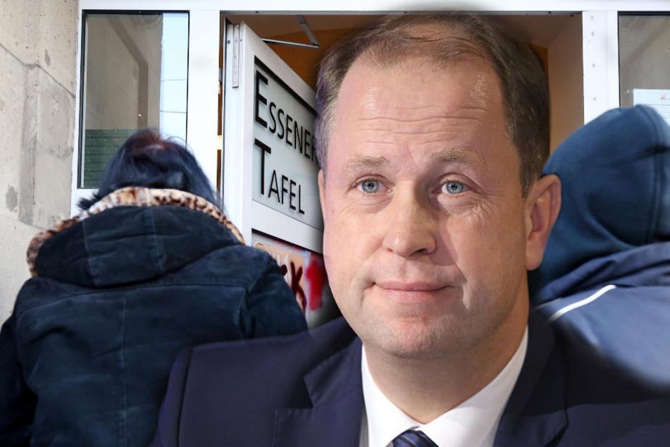 Essener Tafel: Jetzt greift NRW-Integrationsminister ein!