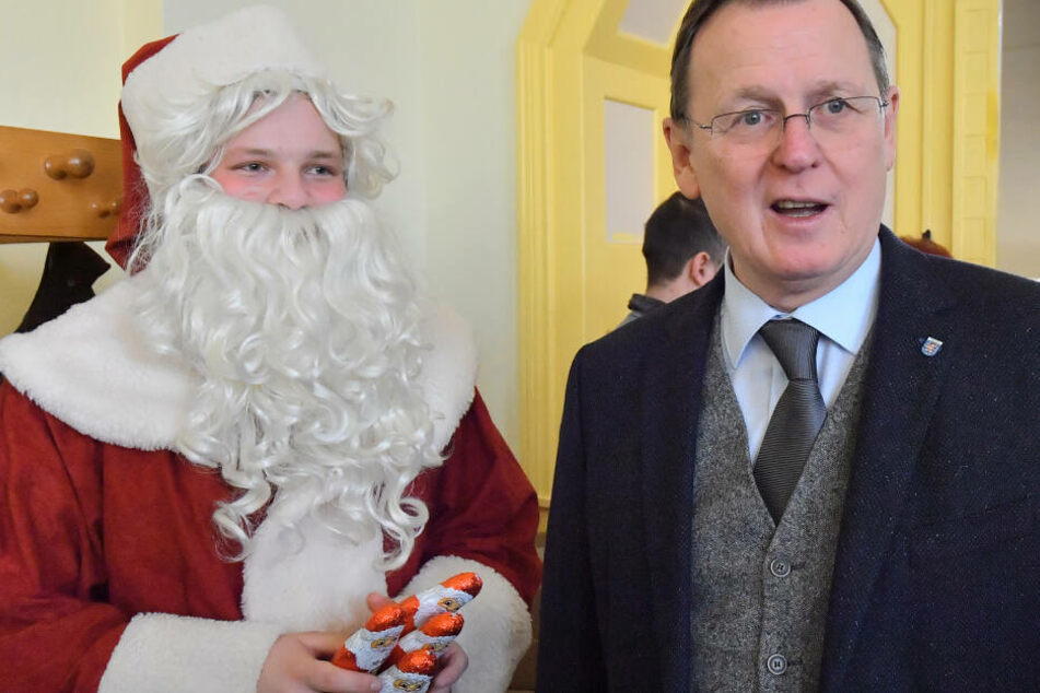 Ministerpräsident Bodo Ramelow hatte das Restaurant am Nikolaustag eröffnet.