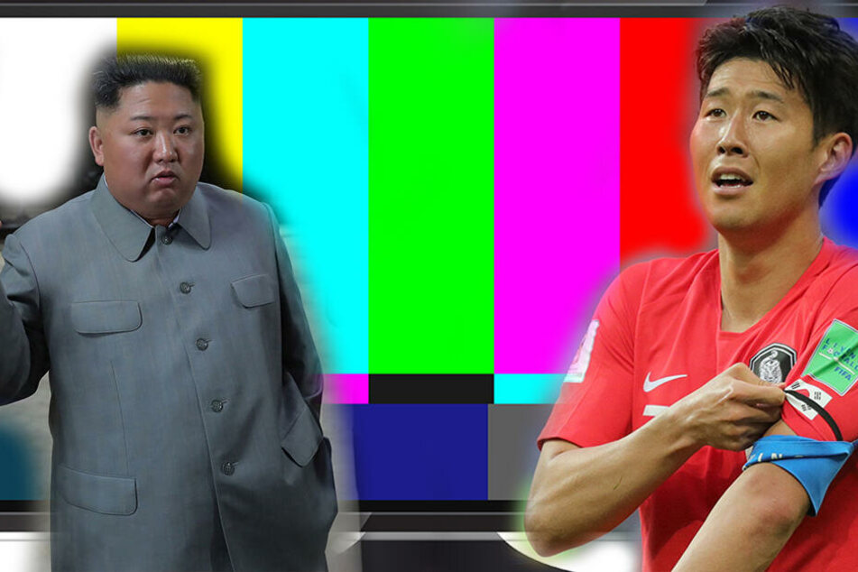 Fußballmatch zwischen Nord- und Südkorea, doch kaum jemand kann es sehen