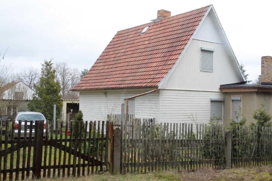 Auf diesem Grundstück in Lauta lebte die Familie.