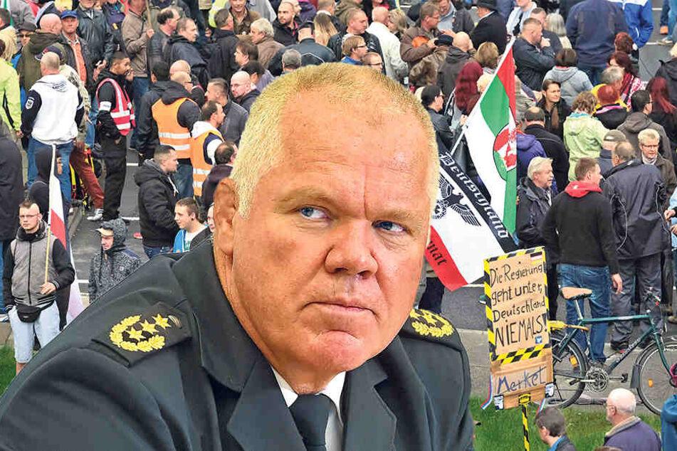 Polizeipräsident Horst Kretzschmar (56) wird mit dem Beamten ein persönliches Gespräch führen.