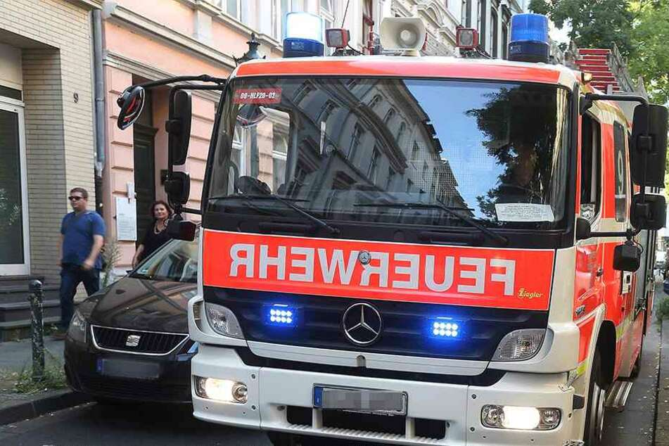 Zum Glück trafen die Feuerwehrleute ein, bevor etwas Schlimmes passieren konnte (Symbolbild).