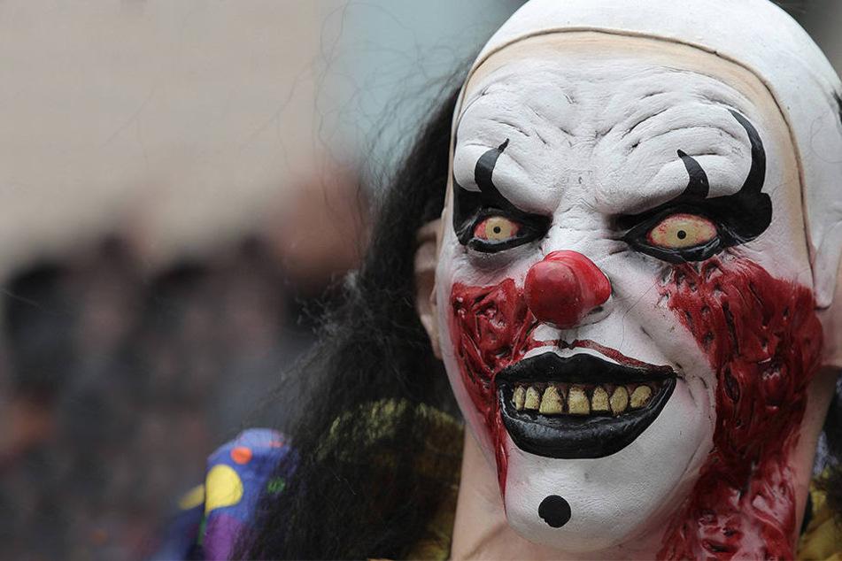 Zwei Frauen die als Horror-Clowns verkleidet waren, wurden jetzt wegen Körperverletzung verurteilt. (Symbolbild)