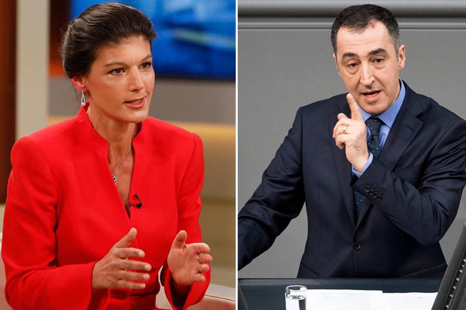 Sahra Wagenknecht (Die Linke) und Cem Özdemir (Die Grünen) fordern Konsequenzen für die militärische Zusammenarbeit.