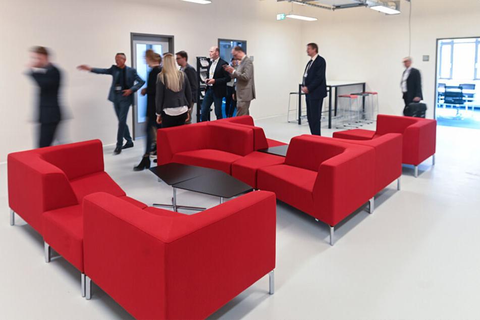 Genügend Platz für neue Mieter: Das Deutsche Zentrum für Luft- und Raumfahrt (DLR) ist schon eingezogen.