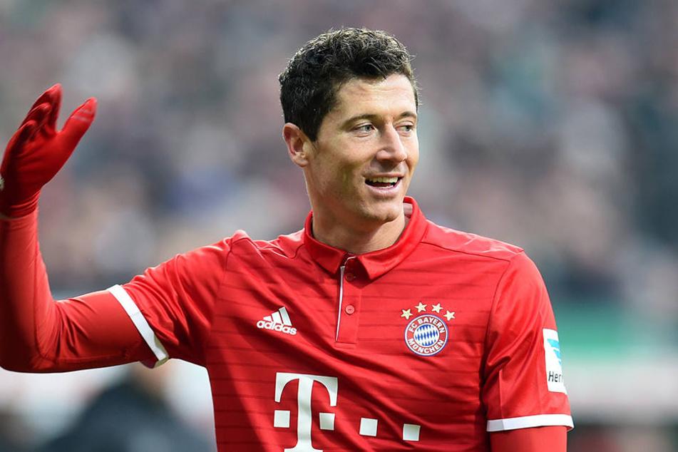Robert Lewandowski ist einer der Top-Verdiener beim FC Bayern.