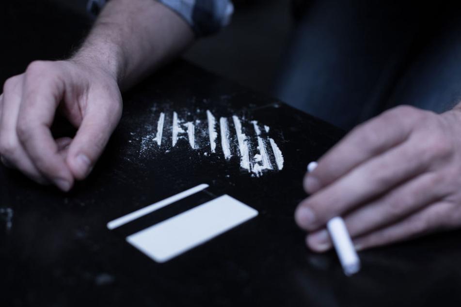 Den vorangegangenen Kokain-Konsum wies ein Drogentest auf dem Polizei-Revier nach (Symbolbild).