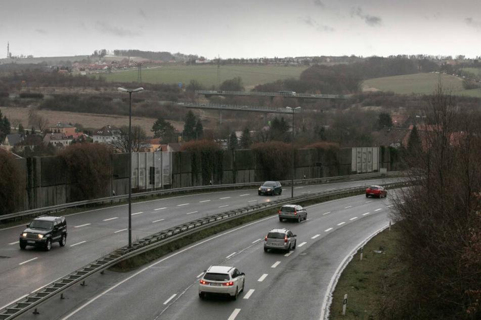Die B170 zwischen Bannewitz und Dresden wird zum Testfeld für automatisiertes Fahren.
