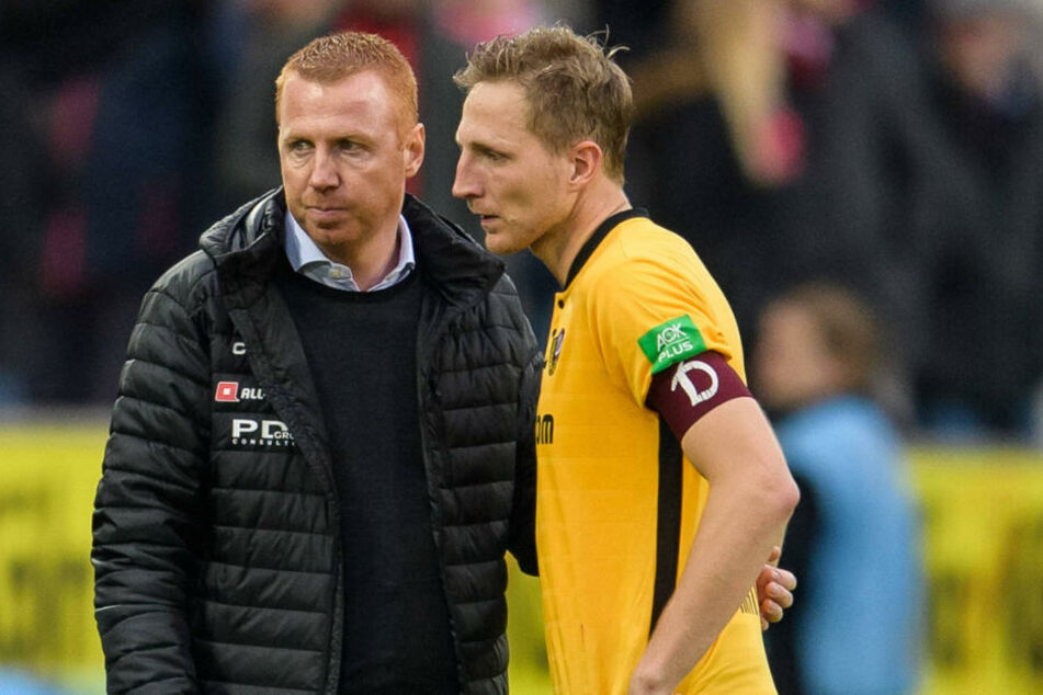 Unter Maik Walprugis (l.) trainierte Marco Hartmann in der Vorsaison nur wenige Monate.