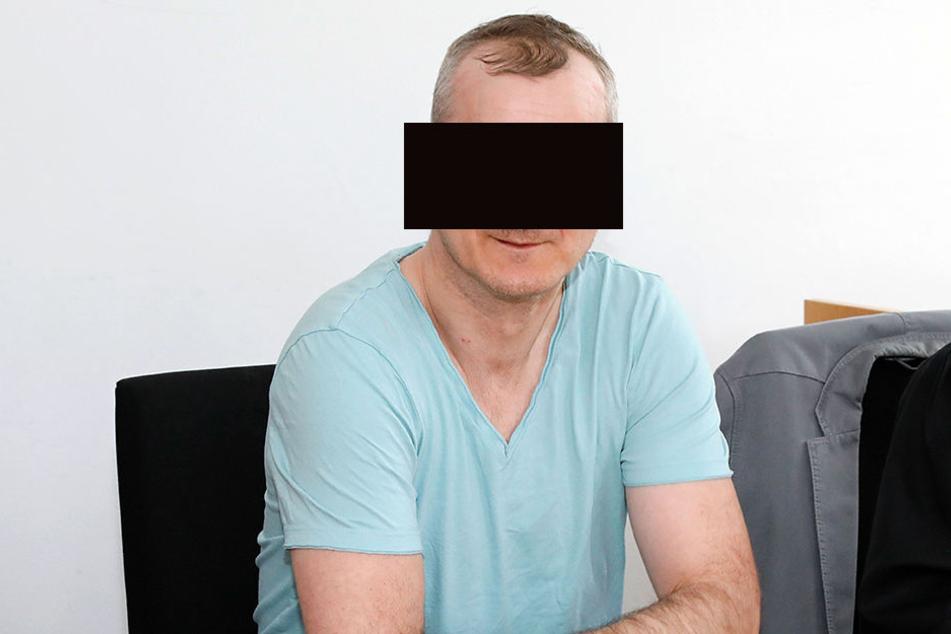 Sven D. (42) muss vier weitere Jahre hinter Gitter.
