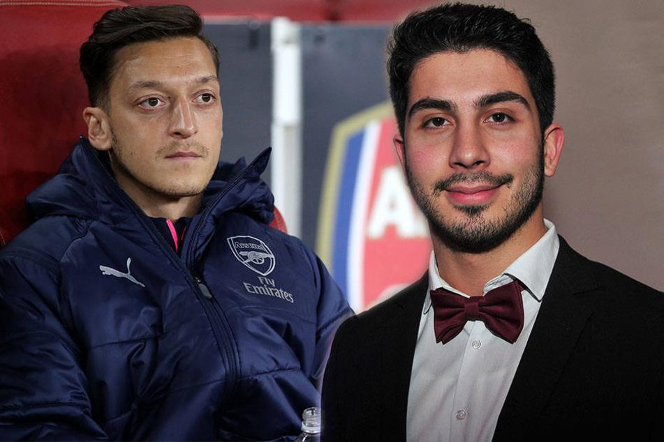 Ali Can (rechts) rief den Hashtag #MeTwo ins Leben. Auslöser war Mesut Özil.