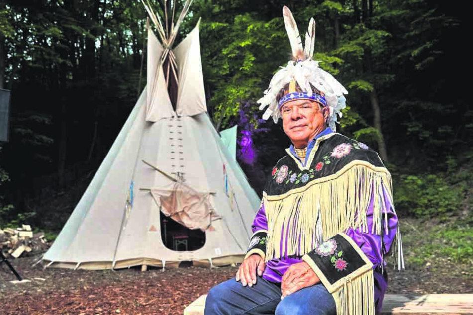 Ray Halbritter (67) ist der Anführer des Oneida-Stammes.