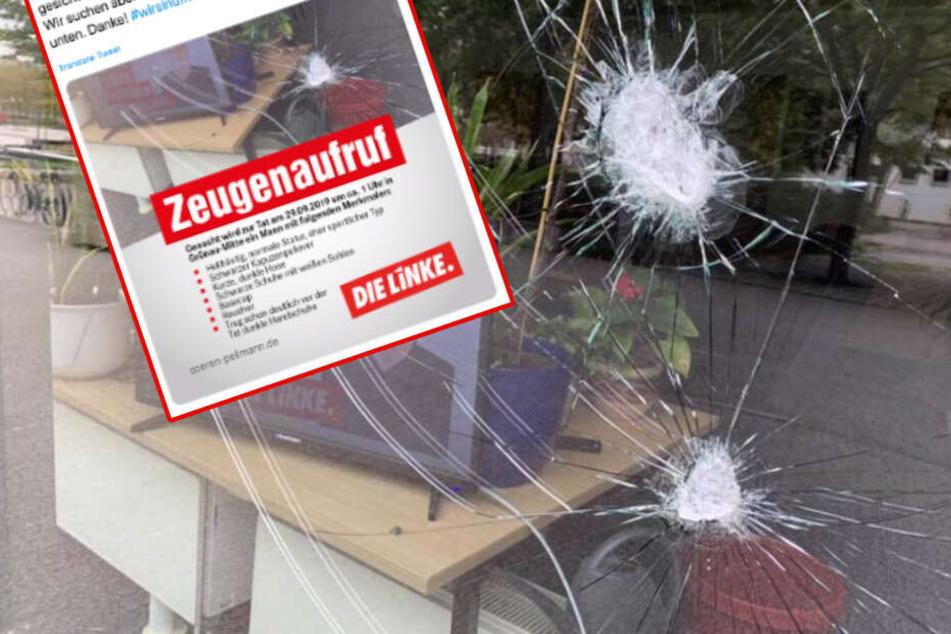 Nach Anschlag auf Leipziger Linken-Büro: Politiker sucht jetzt selbst Zeugen!